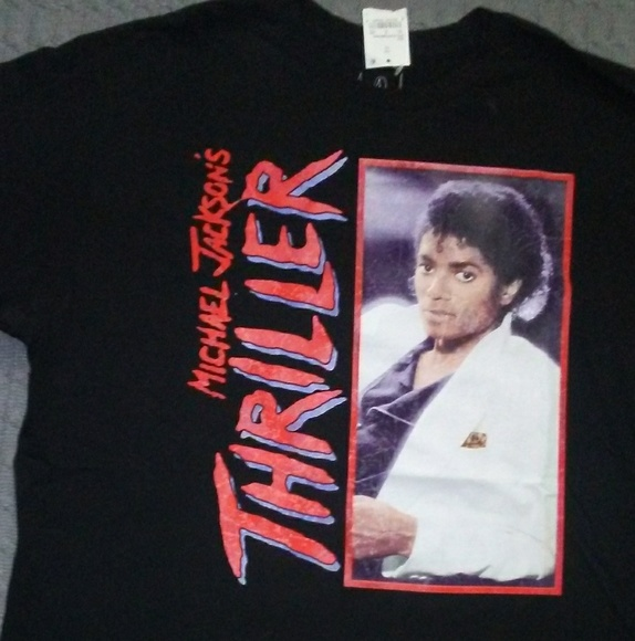 Vintage Shirt All Sizes Michael Jackson Thriller T-Shirt